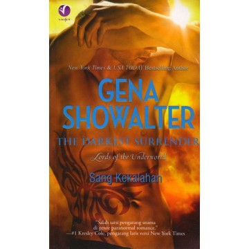 Paranormal Romance Gena Showalter: The Darkest Surrender (Sang Kekalahan)