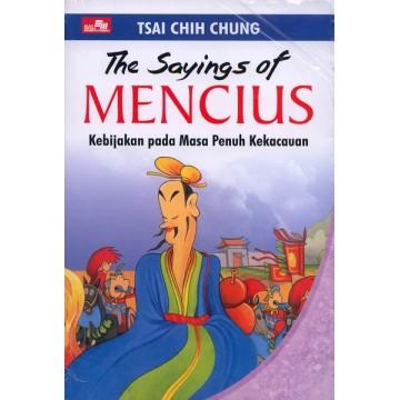 The Sayings of Mencius