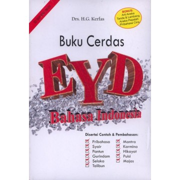 Buku Cerdas EYD Bahasa Indonesia