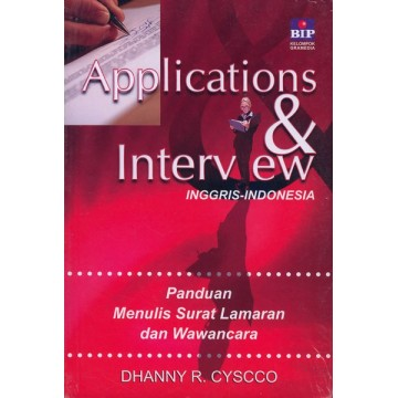 Application & Interview Inggris-Indonesia