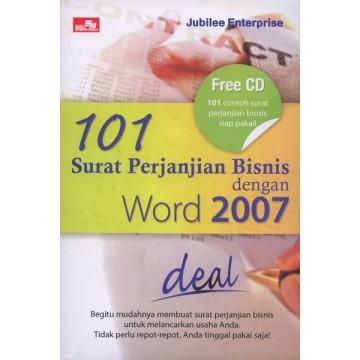 101 Surat Perjanjian Bisnis dengan Word 2007