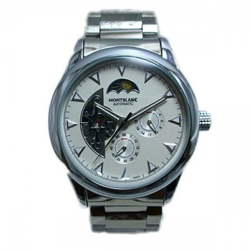 Montblanc White Day Night Analog Automatic