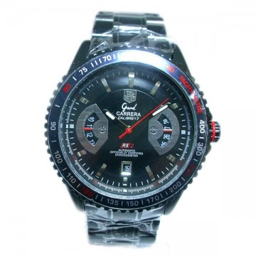 Tag Heuer Black Analog Automatic