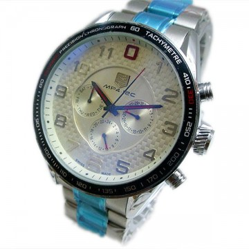 Tag Heuer White Analog Automatic