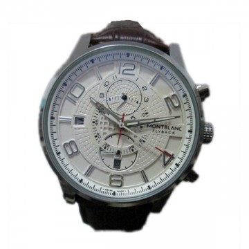 Montblanc Flyback White Analog Automatic