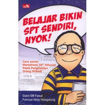 Komik Belajar Bikin SPT Sendiri, Nyok!