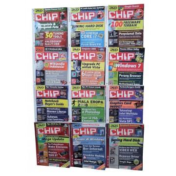 Majalah CHIP Jan-Des 2008 (12 Edisi)