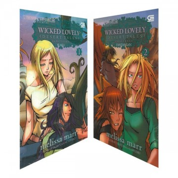 Paket Komik Wicked Lovely Desert Tales 1 & 2
