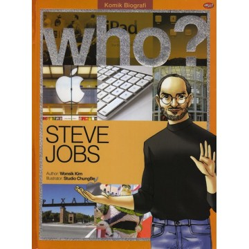 Komik Biografi Who?: Steve Jobs