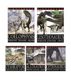 Paket 5 Buku Edutivity: Dinosaurus!