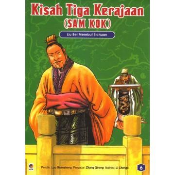 Kisah Tiga Kerajaan (Sam Kok) Jilid 6 - Liu Bei Merebut Sichuan