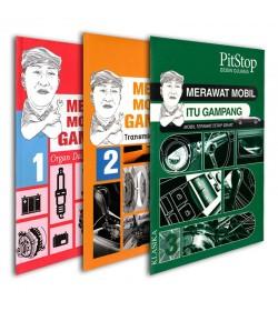 Paket Buku Merawat Mobil Itu Gampang Jilid 1-3